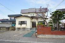 浦谷二戸借家の外観写真