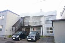 永山6-6二戸借家の外観写真