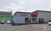 富良野市本町店舗兼事務所(DoCoMoショップ跡)の外観写真