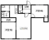 神居3.4アパート