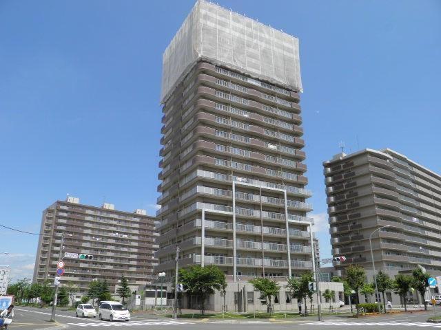 中銀ヴェルデシティ札幌あいの里壱号館の外観写真