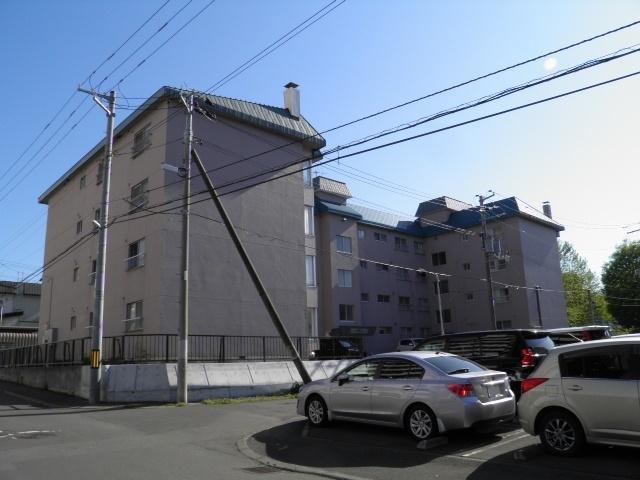 真駒内パークサイドマンションの外観写真