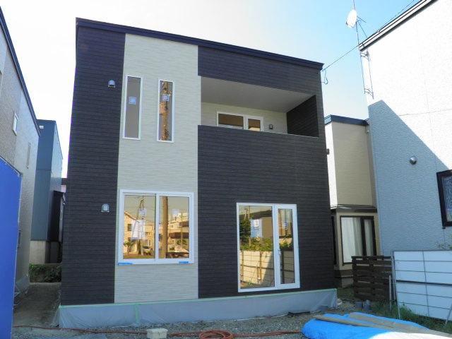 手稲区 新築戸建1号棟の外観写真