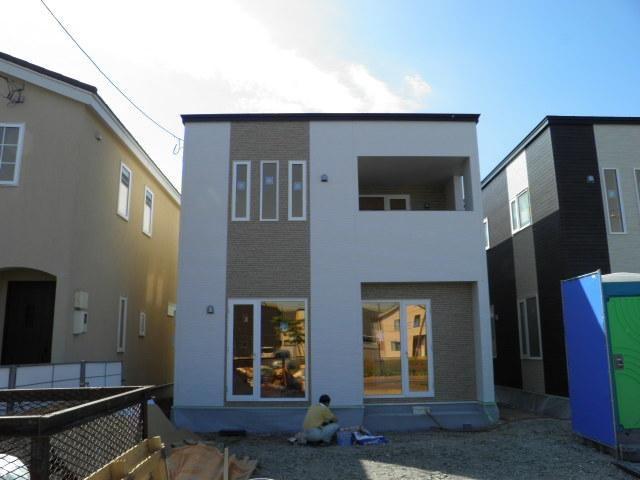 手稲区 新築戸建2号棟の外観写真