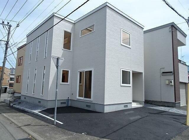 豊平区 新築戸建の外観写真