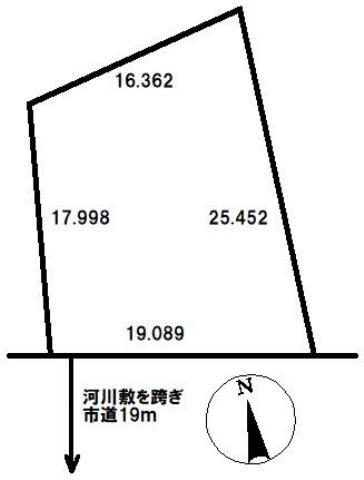 小樽市 土地の外観写真
