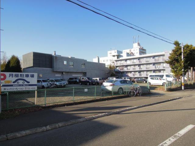真駒内上町パーキングの外観写真