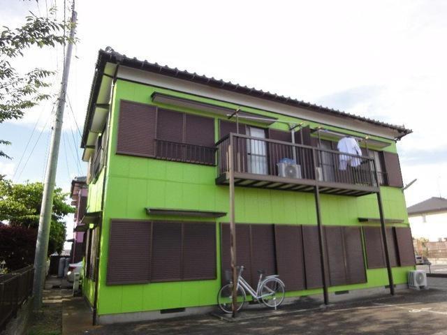 秋本ハイツBの外観写真