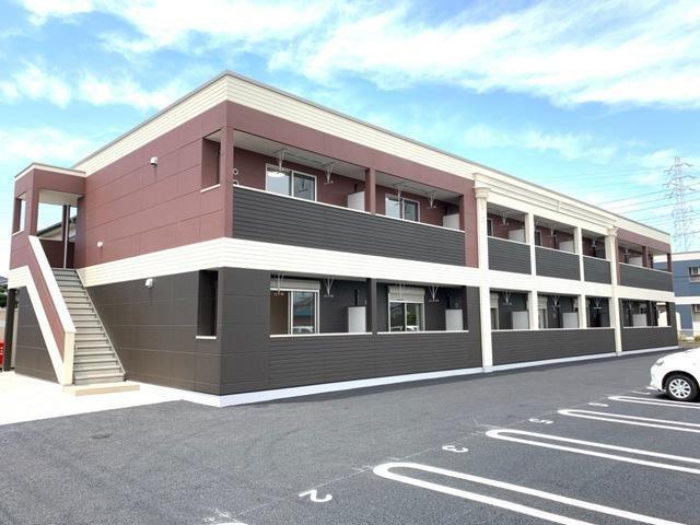 君津市大和田3丁目新築アパートA棟の外観写真