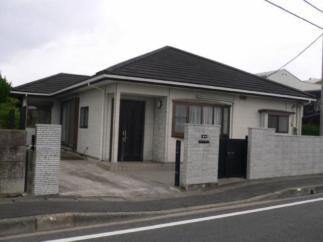 松田邸の外観写真