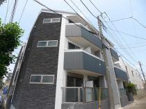 ルーブル調布弐番館の外観写真