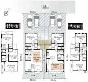 横浜市青葉区奈良町 新築戸建B号棟の間取り