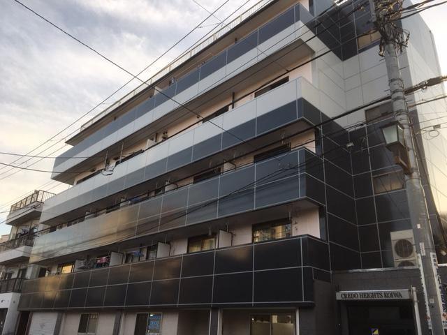 鉄骨コンクリート造5階建の建物です
