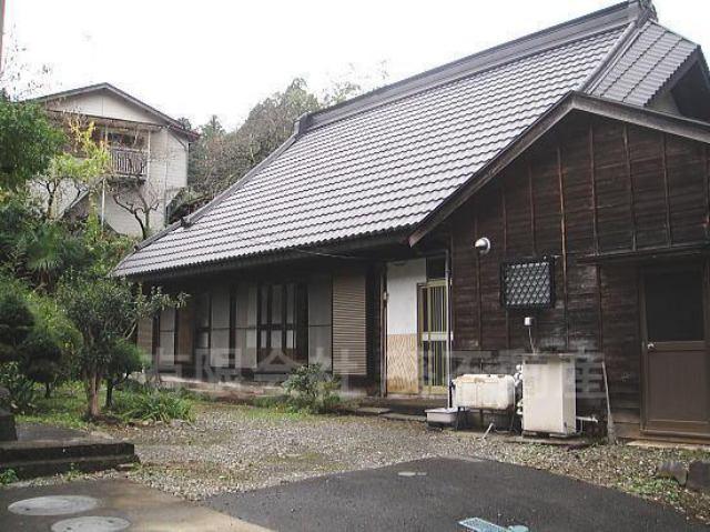 八王子市・古民家の外観写真
