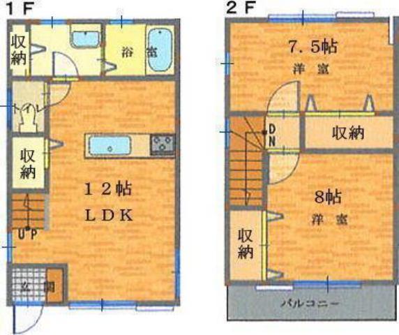 建物L字設計につき、各世帯に通風・採光を確保。