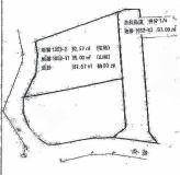 平作4丁目売地の区画図