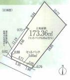 小矢部2丁目売地(駅から平坦)の区画図