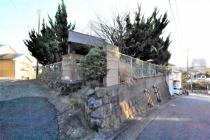 衣笠栄町4丁目売地(上物有)の外観写真