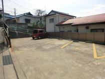 ロータリー駐車場の外観写真
