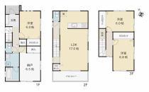 新潟市中央区鐙西2丁目 A棟 新築戸建