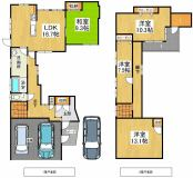 新潟市中央区小張木2丁目 中古住宅/売家