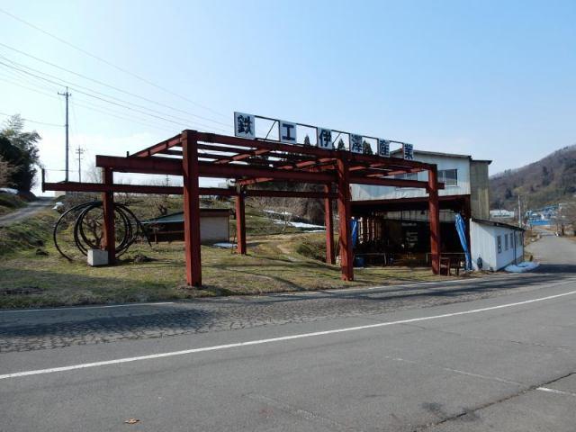 信州新町工場の外観写真