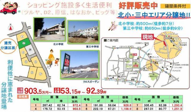 東邦ピュアコート上田 5号地の外観写真