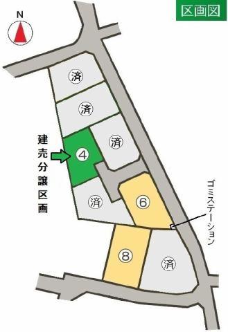 東邦ピュアコート上田 6号地の間取り