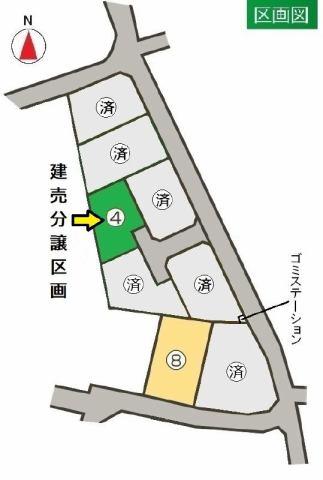 東邦ピュアコート上田 8号地の間取り