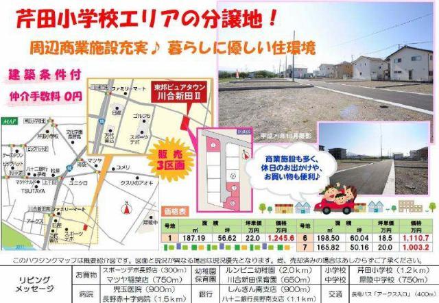 東邦ピュアタウン川合新田II 6号地の外観写真
