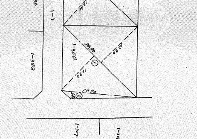 敷地形状図