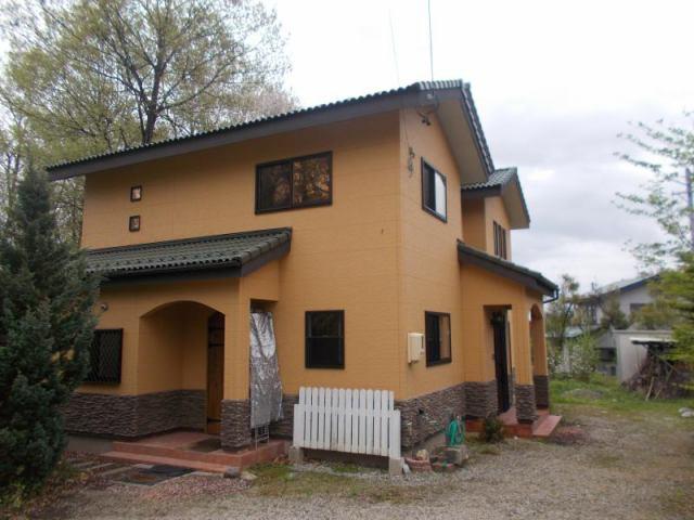 安曇野市穂高有明 中古住宅の外観写真