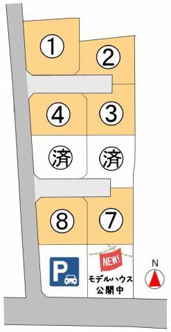 東邦ピュアタウン村井町北1丁目 3号地の間取り