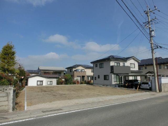 波田売土地の外観写真
