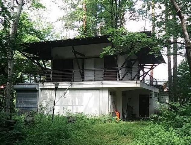 大町温泉郷 中古別荘の外観写真