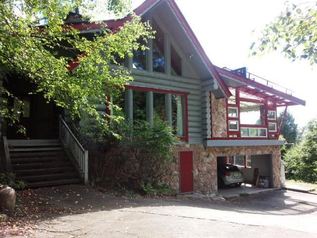 蓼科ビレッジ十文字平 大型ログ住宅の外観写真