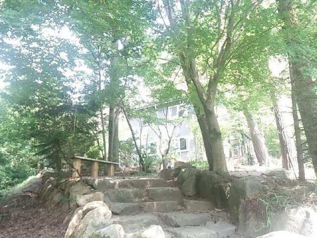 穂高あずみの森別荘地 中古別荘の外観写真