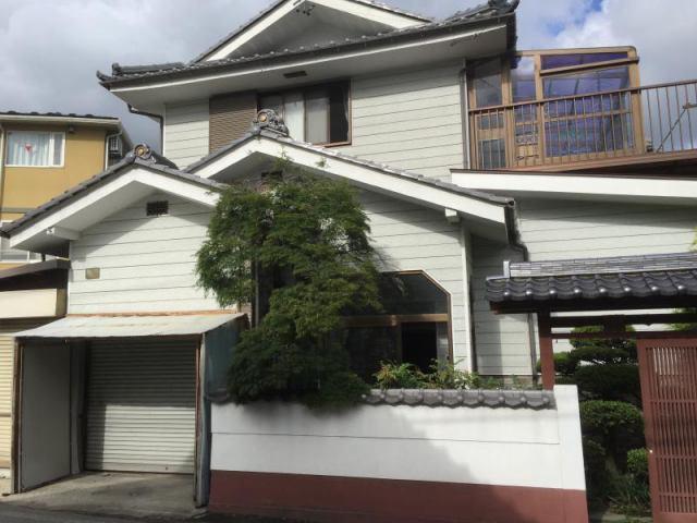 松本市梓川倭 中古住宅の外観写真