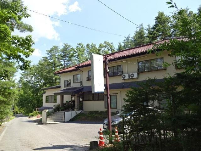穂高学者村 天然温泉売りペンションの外観写真