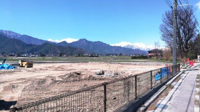 松川村赤芝 分譲地 区画4の外観写真
