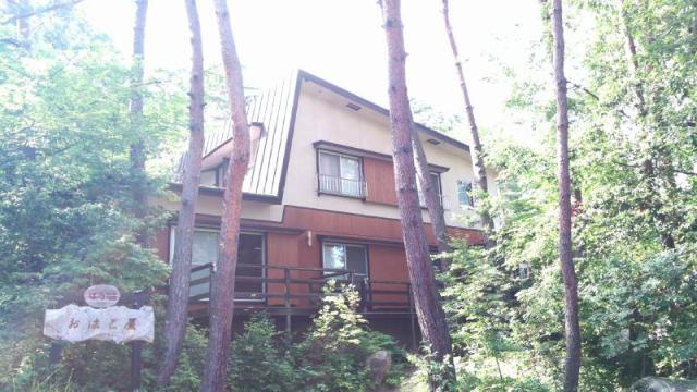 穂高温泉郷小岩嶽 温泉付住宅の外観写真