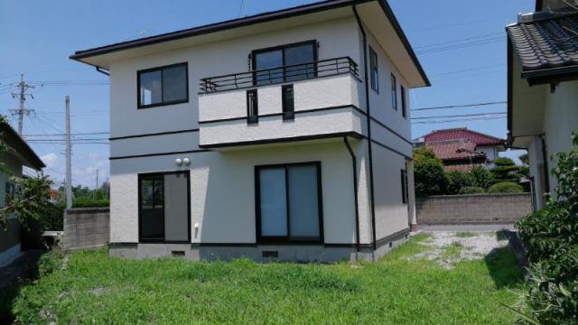 安曇野市南穂高(柏矢町) リフォーム再生住宅の外観写真