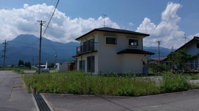 松川村細野 リフォームの外観写真