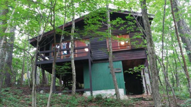 高瀬ハイランド 平屋別荘の外観写真