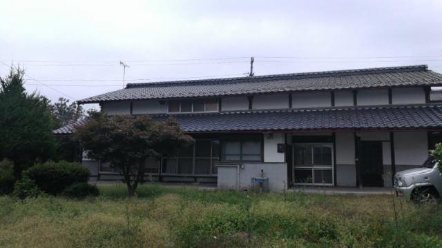 大町市社 古民家住宅の外観写真