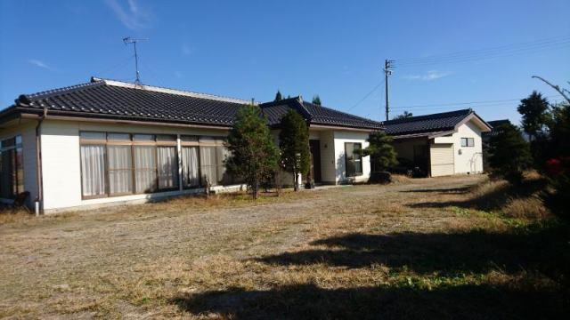 松川村 倉庫付平屋中古住宅の外観写真
