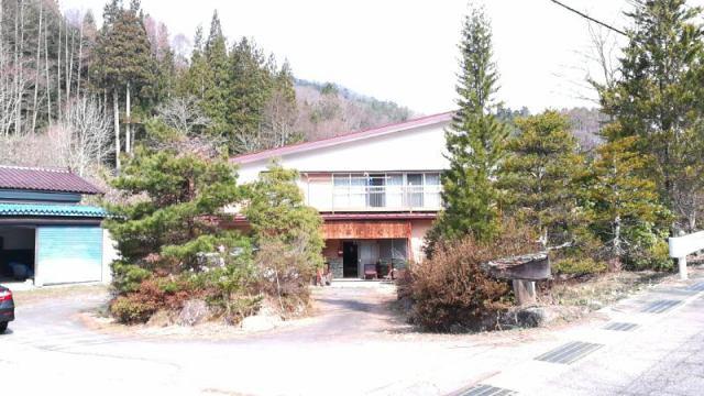 美麻 古民家再生住宅の外観写真