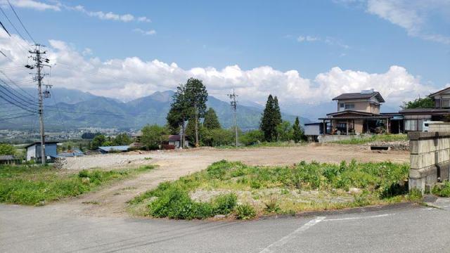 大町市社宮本 土地の外観写真