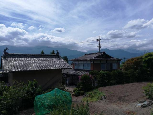 大町市社宮本 土蔵付の古民家住宅の外観写真