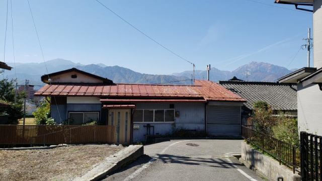 山田町中古住宅の外観写真